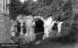 Priory Church Cloisters 1899, Boxgrove