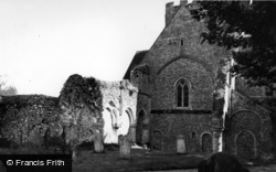 Priory Church Of St Mary And St Blaise c.1955, Boxgrove