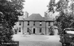Boxley, The Vicarage c.1955