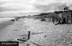 Bracklesham, Beach West c.1950