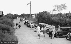 Bracklesham, Bracklesham Lane c.1955