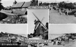 Bracklesham, Composite c.1955, Bracklesham Bay