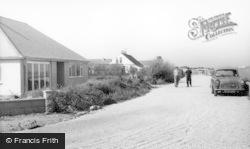 Bracklesham, New Bungalows c.1960