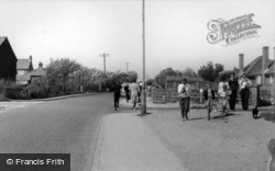 Bracklesham, Sea Road c.1960, Bracklesham Bay