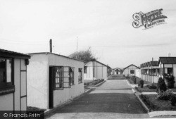 Bracklesham, Sussex Holiday Chalets c.1950