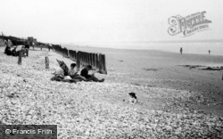 Bracklesham, The Beach c.1950, Bracklesham Bay