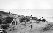 Bracklesham, The Beach c.1955