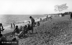 Bracklesham, The Beach c.1955, Bracklesham Bay