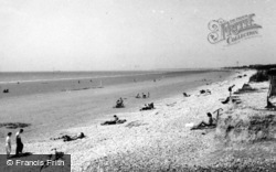 Bracklesham, The Gap c.1950, Bracklesham Bay