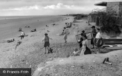 Bracklesham, The Gap West 1947, Bracklesham Bay