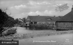 Bracklesham, The Pond c.1950, Bracklesham Bay