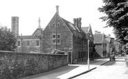 Brackley, Magdalen College School c.1955