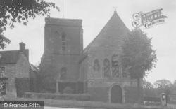 Magdalen College School Chapel c.1955, Brackley