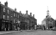 Brackley, Market Place And Town Hall c.1955