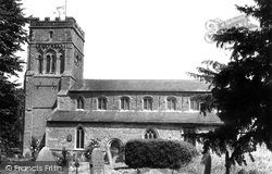 St Peter's Church c.1955, Brackley