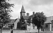 Brackley, the Church Junior School c1955