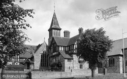 The Church Junior School c.1955, Brackley