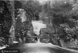 Bracklinn Falls, Lower Falls 1899