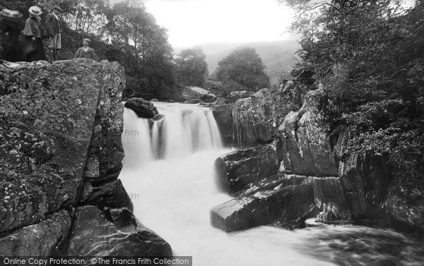 Bracklinn, Upper Falls 1899