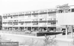 Bracknell, Harmans Water Shops c.1960
