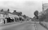 Bracknell, High Street c.1955