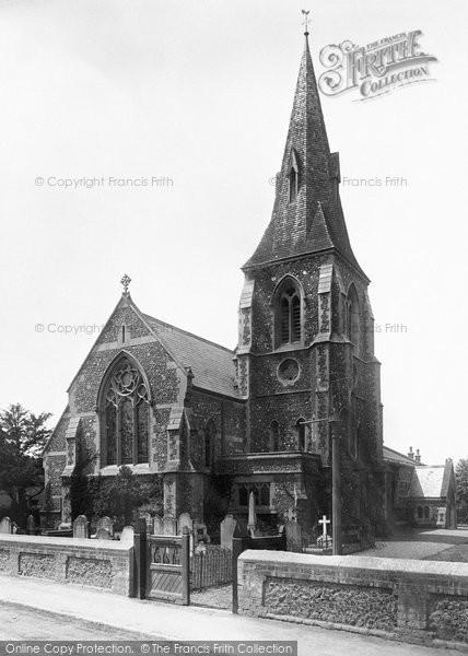 Photo of Bracknell, Holy Trinity Church 1901