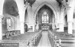 Bracknell, Holy Trinity Church Interior 1901