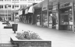 Bracknell, Shopfronts In Crossway Parade c.1960
