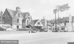 Bracknell, The Old Manor Hotel And Hinds Head c.1965
