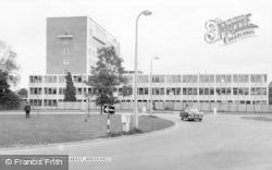 Bracknell, The Roundabout c.1965