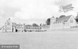 Bradfield, College And Chapel c.1960