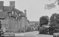 Bradfield, College Corner c.1955