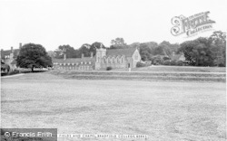 Bradfield, College, The Playing Fields And Chapel c.1960