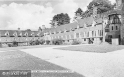 Bradfield, College, The Quadrangle c.1960