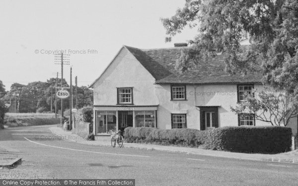 Bradfield, c.1955.  (Neg. B810017M)  © Copyright The Francis Frith Collection 2006. http://www.francisfrith.com
