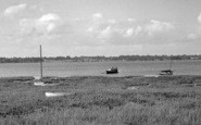 Bradfield, River Stour And Suffolk Coast c.1955