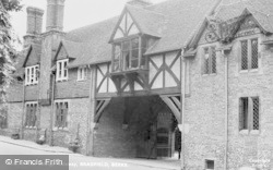 Bradfield, The College Gateway c.1955