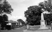 Bradfield, The Memorial c.1955