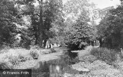 Bradfield, The River c.1955