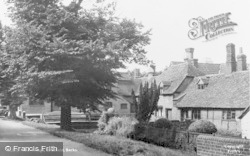 Bradfield, The Village c.1955