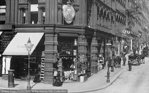Photo of Bradford, A Shop In Darley Street 1897