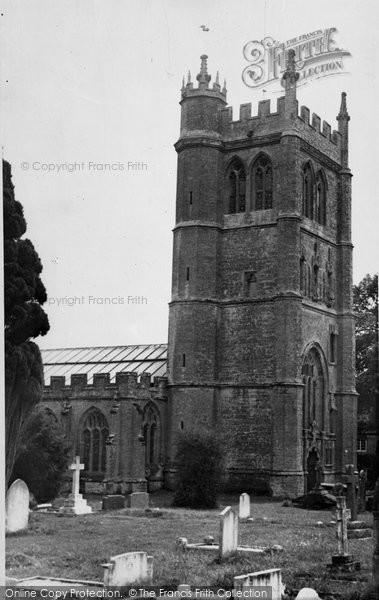 Bradford Abbas, Church Of St Mary The Virgin c.1955