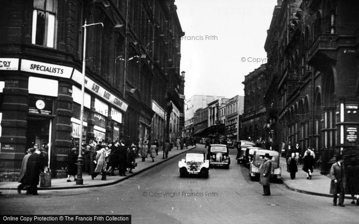 Photo of Bradford, Bank Street c.1950