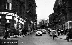Bradford, Bank Street c.1950