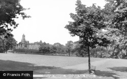 Bradford, Cartwright Memorial, Manningham Park c.1955