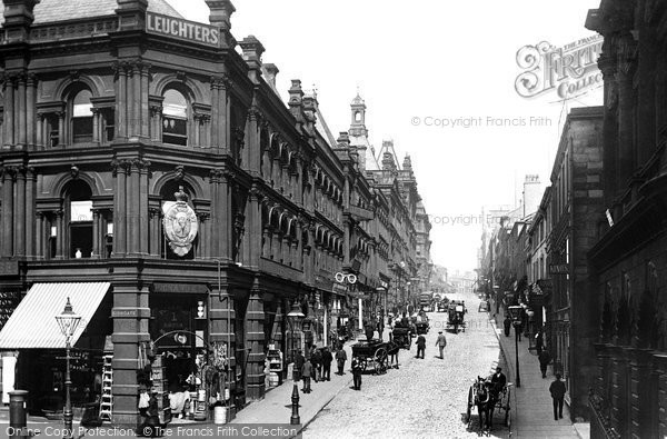 Photo of Bradford, Darley Street 1897