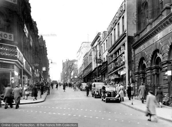 Photo of Bradford, Darley Street c.1950
