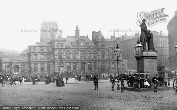 Photo of Bradford, Forster Square 1897