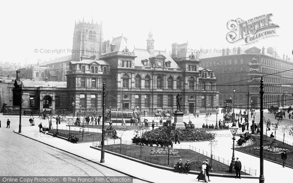 Photo of Bradford, Forster Square 1903