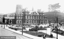 Bradford, Forster Square 1903